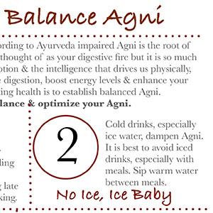 Balancing Agni