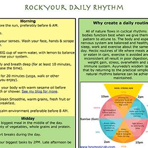 Daily Rhythm