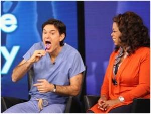 Dr. Oz Tongue Scraper