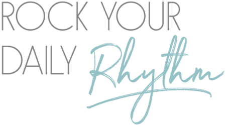 rock your daily rhythm logo